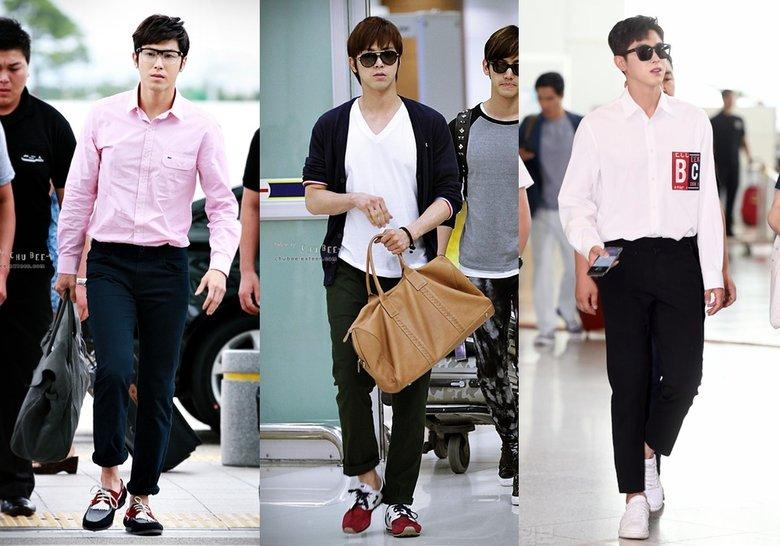 Airport Fashion 101: YunHo of TVXQ