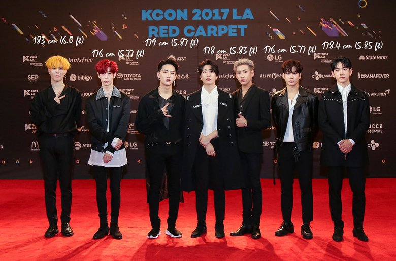 Who Are The Tallest And The Smallest Of Got7 Kpopmap Kpop Kdrama And Trend Stories Coverage