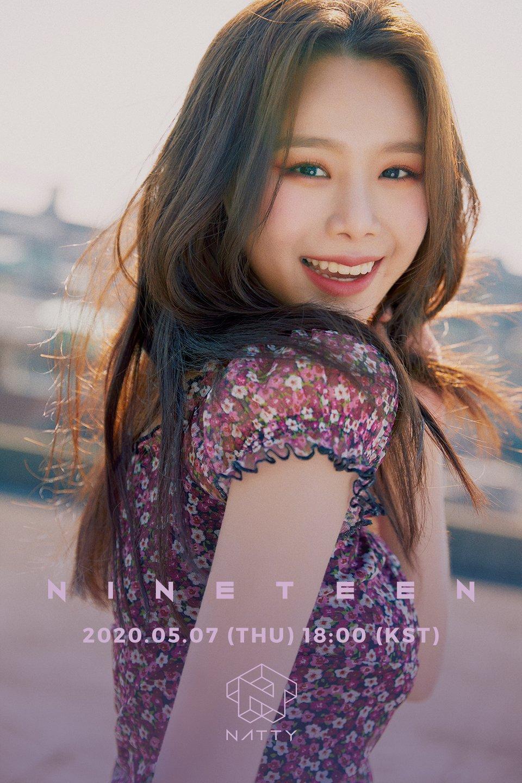 "NATTY Debut Single ""NineTeen"" Concept Photo | Kpopmap"
