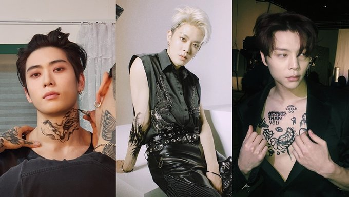 NCT 127's JaeHyun, Yuta And Johnny Show Off Their Tattoo ...