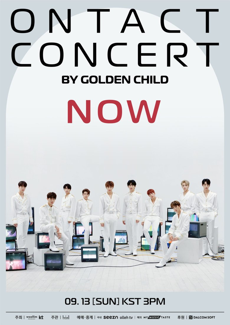 """GOLDEN CHILD ONTACT CONCERT-NOW"": Live Stream And Ticket Details"