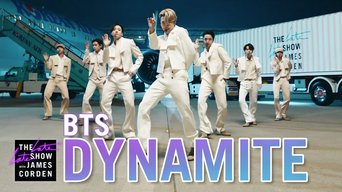 BTS – 'Dynamite'   The Late Late Show with James Corden