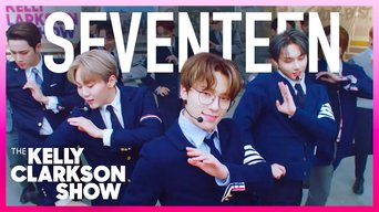 Seventeen Performs 'Left & Right' On The Kelly Clarkson Show