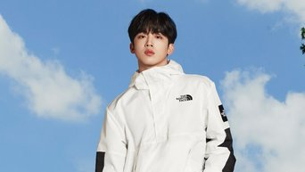 WEi's Kim YoHan Becomes The New Model For 'North Face' White Balance