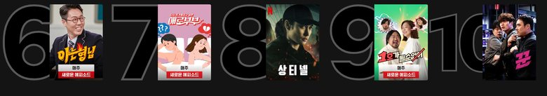 10 Most Popular Netflix Programs Currently In Korea (Based On March 11 Data)