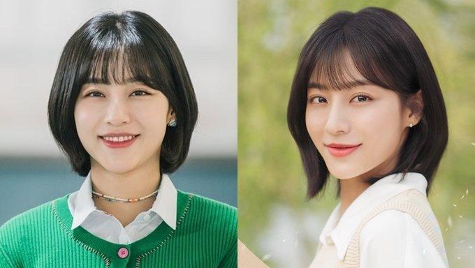Kang MinAh, Kang MinAh true beauty, Kang MinAh at a distance spring is green