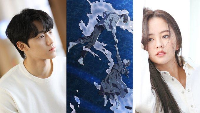 Gorae Byul The Gyeongseong Mermaid, Gorae Byul The Gyeongseong Mermaid webtoon, Gorae Byul The Gyeongseong Mermaid drama, the whale star webtoon, the whale star drama, 고래별 drama, 고래별 webtoon, Korean little mermaid